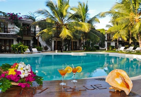My Blue Hotel - Tanzanie a Zanzibar