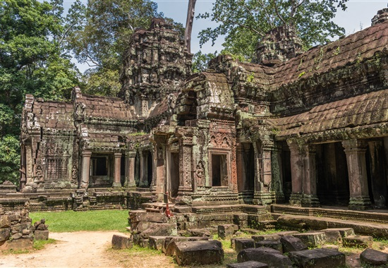 Chrámy Angkoru a pláž Sihanoukville -