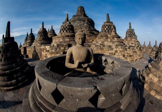 Velký okruh Jávou s pobytem na Bali -