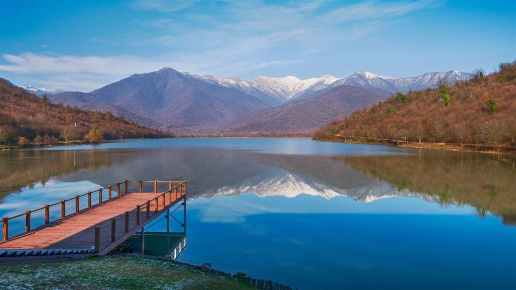 Pestrobarevná Gruzie - Gruzie