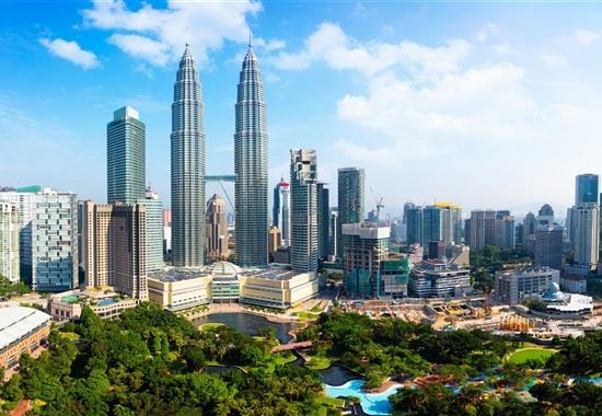 Kuala Lumpur a Langkawi -