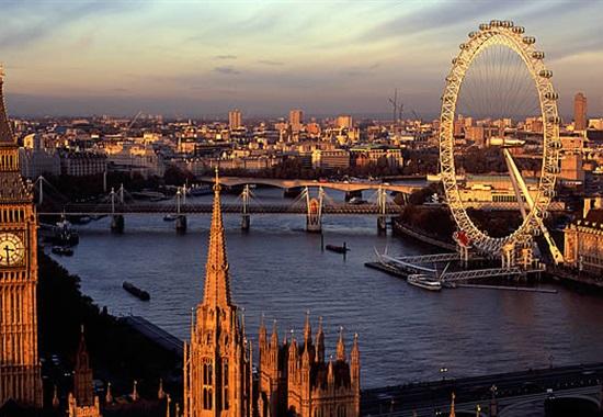 Eurovíkend v Londýně -
