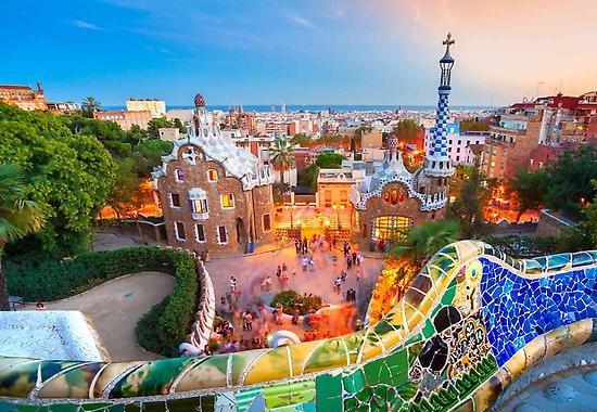 Eurovíkend v Barceloně - Španělsko