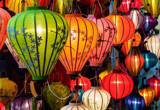 Pestrobarevný Vietnam -