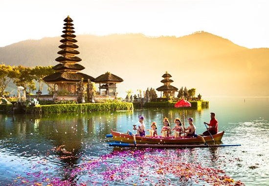 Východní Jáva + západní Bali a pláž -